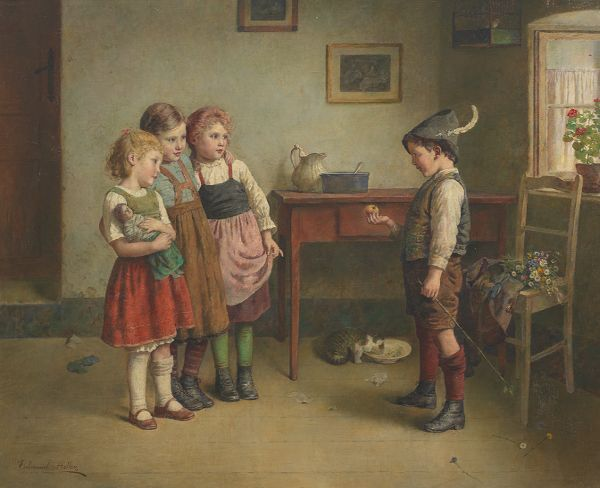 lot 50. Edmund Adler (Austrian, 1876-1965) est. $10,000-$15,000