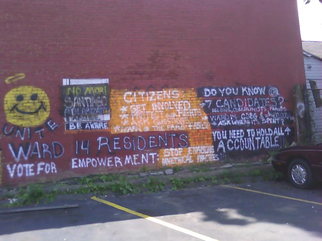 Political Wall as of August 01 2009