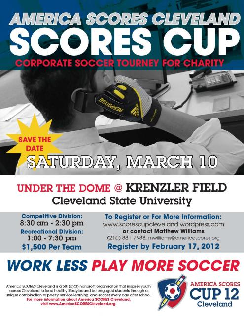 2012 SCORES Cup on March 10 - CALL FOR TEAMS